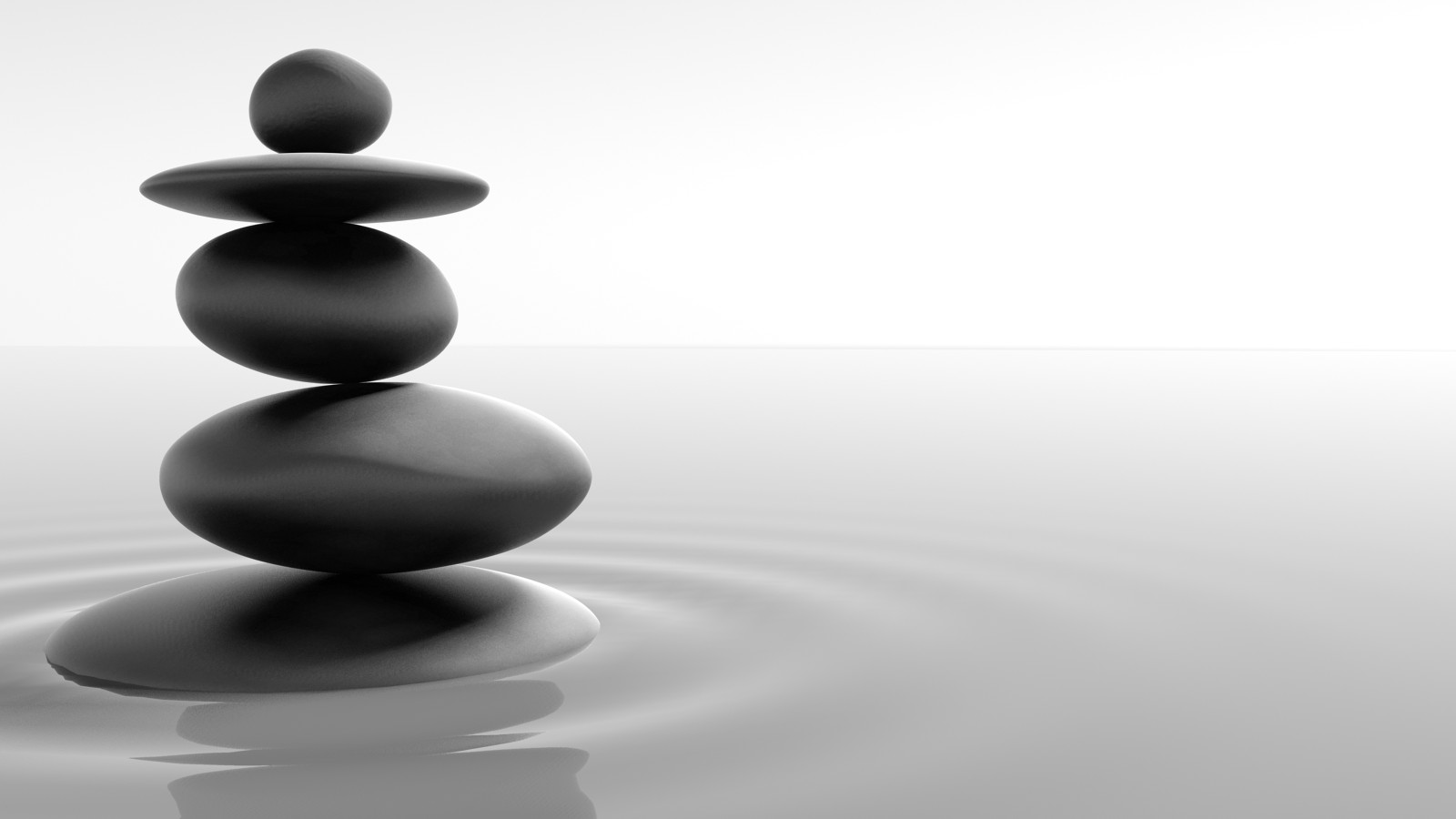 Pietre Zen Tao in Equilibrio - Download Wallpaper