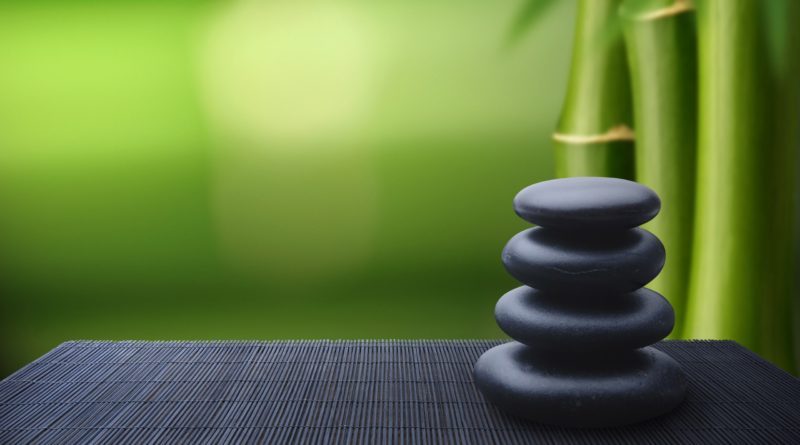 Zen Bamboo Relaxation Wallpaper